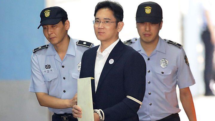 5 års fängelse för Samsung arvtagaren