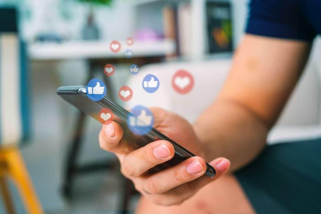 Sociala medier företag